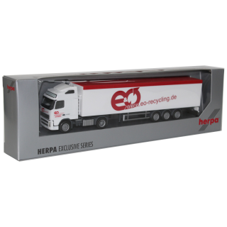 Herpa Exclusive Series Volvo 440 Schubboden EO-Recycling